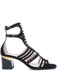 Lanvin Multi Strap Studded Sandals