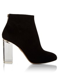 Charlotte Olympia Alba Suede Ankle Boots
