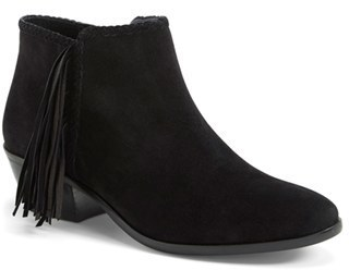ff5060d99222 ... Suede Ankle Boots Sam Edelman Paige Fringed Ankle Bootie ...