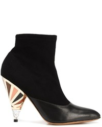 Givenchy Prism Heel Ankle Boots