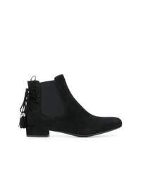 Prada Tassel Detail Ankle Boots