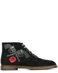 Dolce & Gabbana Marsala Boots