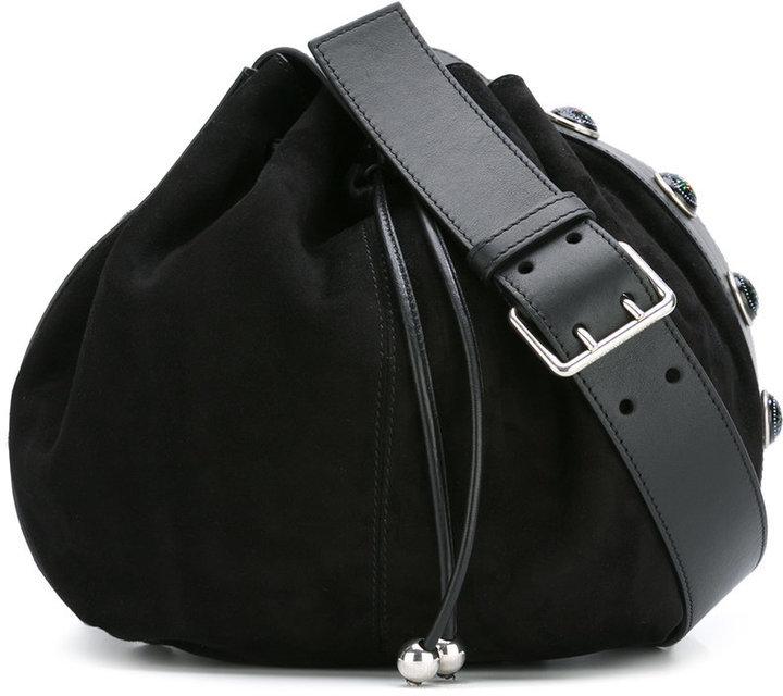 650af521ec8 Alexander McQueen Bucket Crossbody Bag, £1,474 | farfetch.com ...