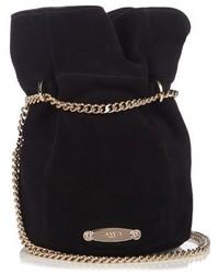 Lanvin Suede Bucket Bag