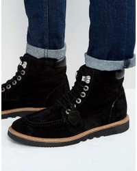 Kickers Kwamie Suede Lace Up Boots