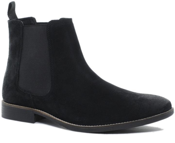 Chelsea Boots in Suede - Black Asos NXm8wbHc
