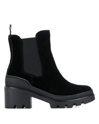 Tommy Hilfiger Ridged Sole Boots