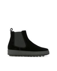Philippe Model Velvet Chelsea Boots