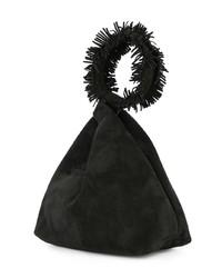 Elena Ghisellini Fringed Clutch Bag