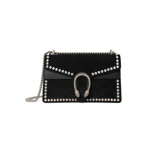 9672c24a859e Gucci Dionysus Suede Shoulder Bag With Crystals, £2,834 | farfetch ...