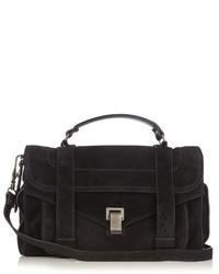 Ps1 medium suede shoulder bag medium 808902