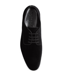 Burberry Velvet Derby Shoes