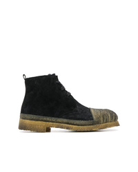 Rocco P. Contrast Toe Boots