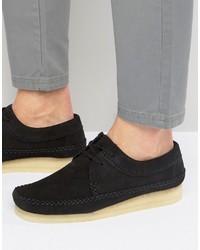 Clarks Originals Original Weaver Suede Shoes