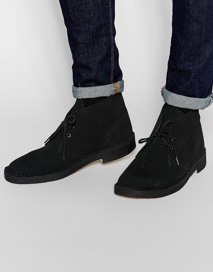 Asos Clarks Uk £118 Originals Desert Lookastic Boots Suede zqz1Tfw