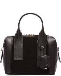 Pierre Hardy Leather Suede Duffel Bag