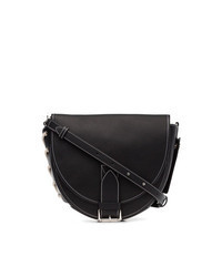 Black Suede Fanny Pack