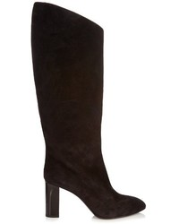 Acne Studios Aly Suede Knee High Boots