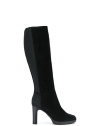 Geox Elasticated Knee Length Boots