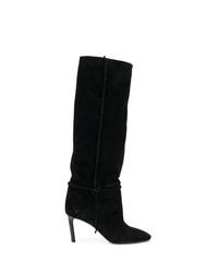 Saint Laurent Heeled Knee Length Boots