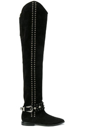 Knee length studded boots medium 5318019
