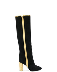 Saint Laurent Loulou Knee High Boots