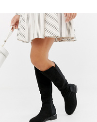ASOS DESIGN Wide Fit Brandi Knee High Boots