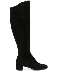Zipped knee length boots medium 4915276