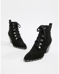 ASOS DESIGN Ritz Suede Lace Up Ankle Boots Suede