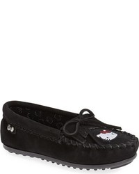 Minnetonka Toddler Girls Hello Kitty Kilty Moccasin