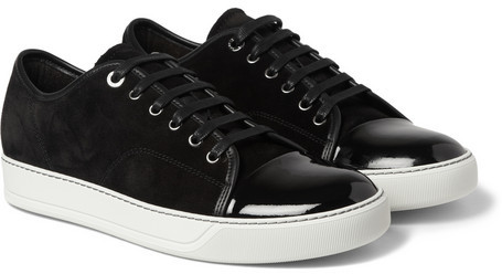 Leather Sneakers Lanvin 100% Original Cheap Online Amazing Price Online Manchester Great Sale For Sale Recommend Discount jfON18lIMW