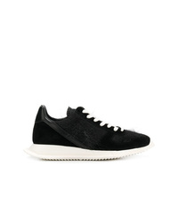 Rick Owens Textured Panel Sneakers