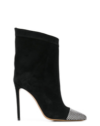 Alexandre Vauthier Embellished Mid Calf Boots