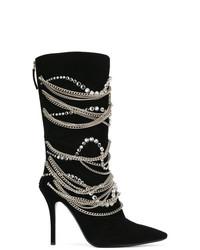 Giuseppe Zanotti Design Notte Chain Boots