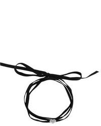 Black Suede Necklace