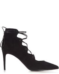 Paris lace up suede pumps medium 1052423