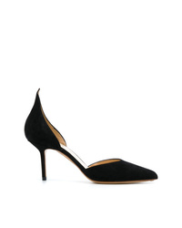 Francesco Russo Pointed Toe Dorsay Pumps