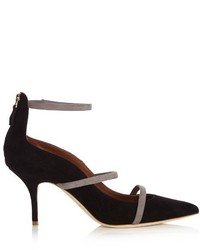 Malone Souliers Robyn Point Toe Suede Pumps