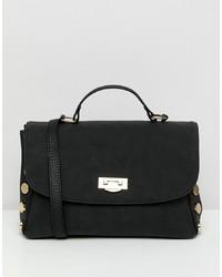 ASOS DESIGN Oversize Stud Slouchy Bag