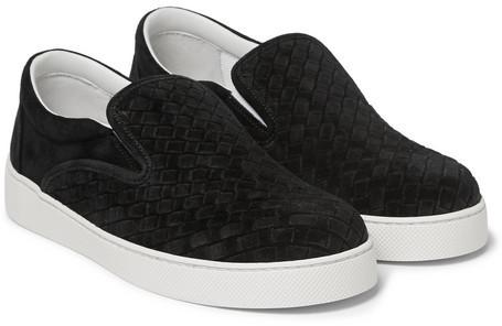 Bottega Veneta Intrecciato Slip-On Sneakers amazing price for sale 8IZPB