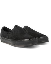 Hender Scheme Mip 17 Suede Trimmed Nubuck Slip On Sneakers