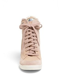 ef578ceef50 ... French Connection Marla High Top Wedge Sneaker ...