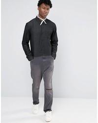 Asos Boiler Suit In Black