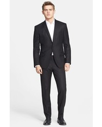 Versace Collection Trim Fit Wool Suit