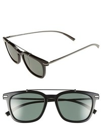Salvatore Ferragamo 54mm Polarized Sunglasses Black