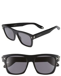Givenchy 55mm Polarized Retro Sunglasses Black