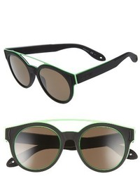 Givenchy 7017s 50mm Sunglasses Black Rubber
