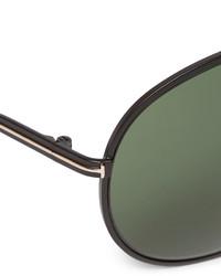 b046197168 ... Tom Ford Cliff Aviator Style Metal Polarised Sunglasses