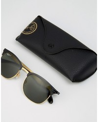 da67557a67 ... Ray-Ban Clubmaster Sunglasses With Polarised Lens 0rb3538 ...