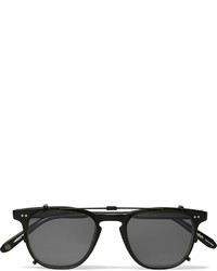 Garrett Leight California Optical Brooks Detachable Front Matte Acetate Sunglasses